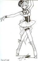Enchanting Dancer of the Dark by purpletenshi