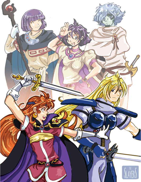 Slayers by sumimasen