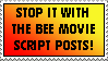 Stop it with the Bee Movie memes by YangXiaoFan457