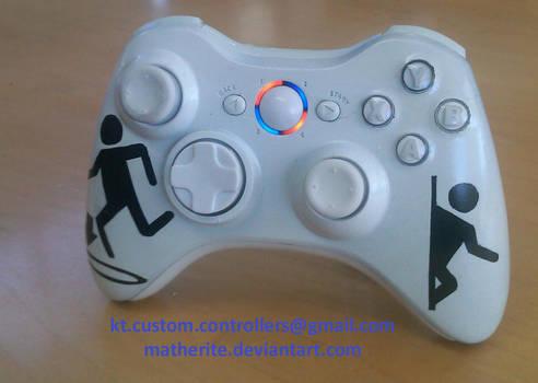 Portal Xbox 360 Controller by matherite