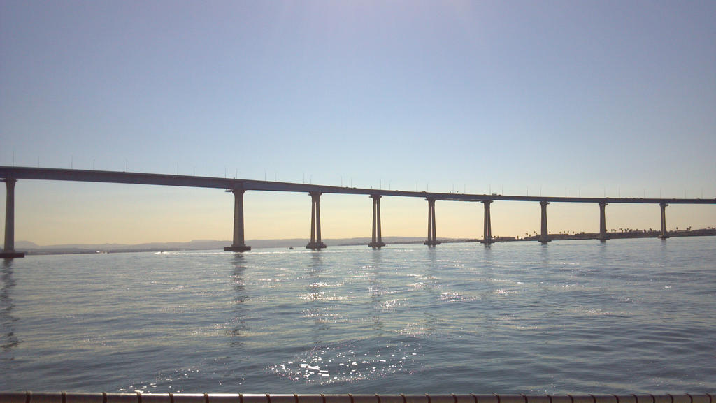 Coronado CA Bridge by chilipepgrl