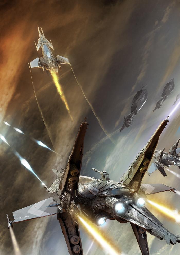 air battle by Miezis