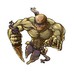 the atack of skeletron ninja