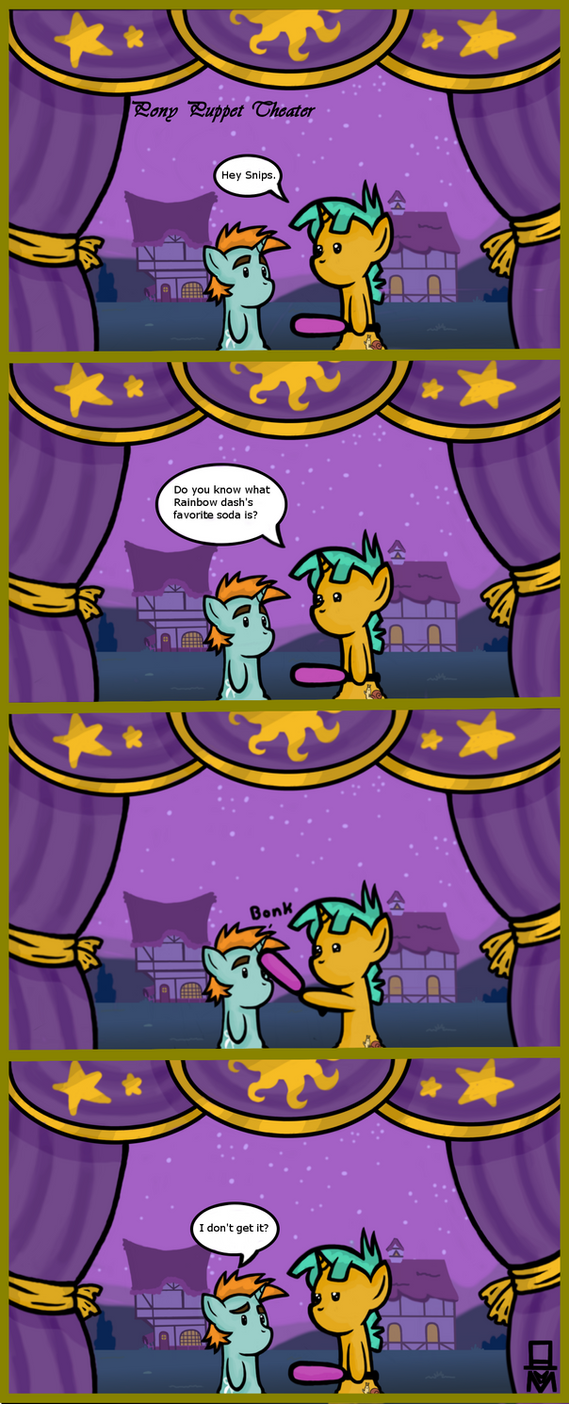 Pony Puppet Theater #4 Bonk by MangaMeister
