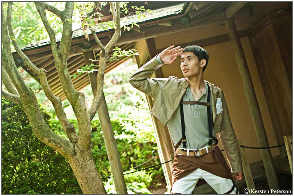 Attack On Titan: Eren by CosplayerWithCamera