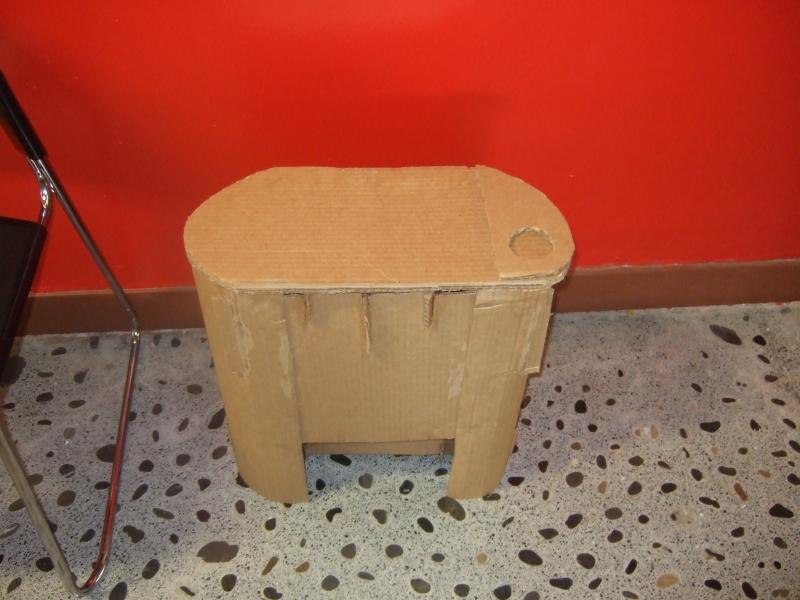 That fugly cardboard chair... by Janus-Rakeldant