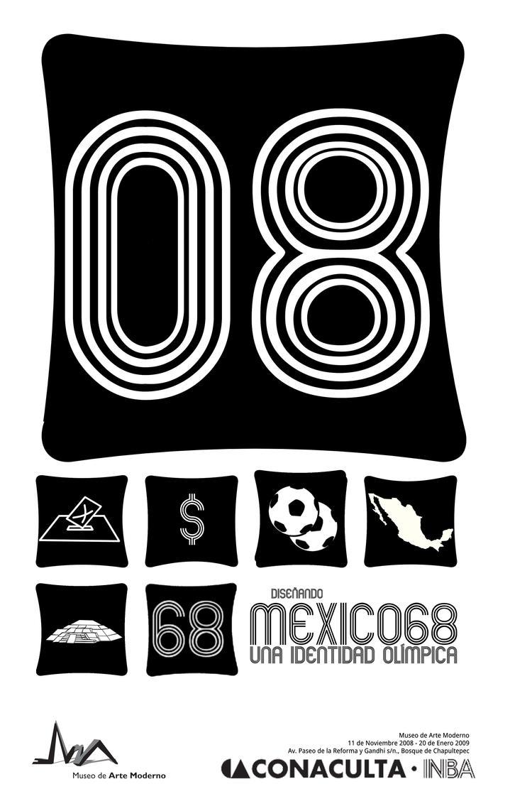 40 years from Mexico 68 by Janus-Rakeldant