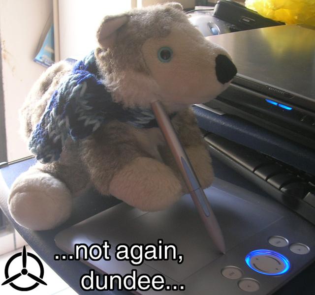 Dundee strikes back by Janus-Rakeldant