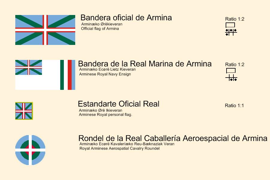 Flags of Armina: Revisited by Janus-Rakeldant
