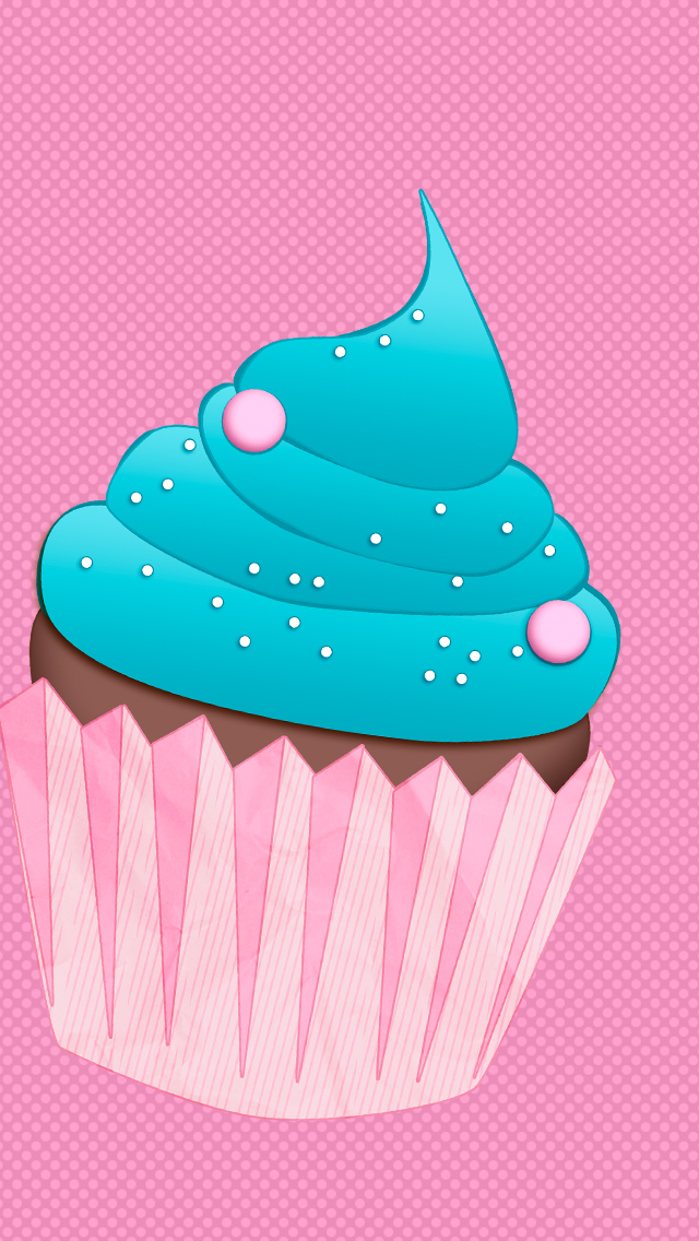 cute cupcake iphone wallpaper