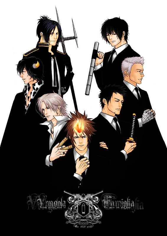 KHR - Vongola Famiglia by tashigi