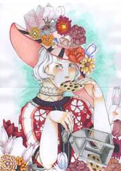 Flower Hat by Friherrinna