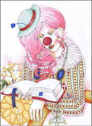 Stupid Clown by Friherrinna