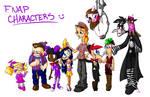 5nap character sheet