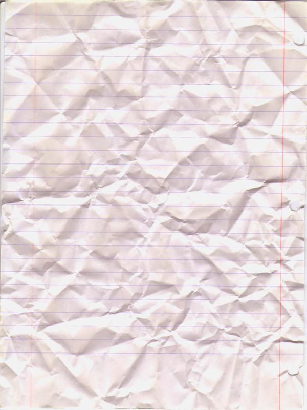 Crumpled Lined Paper by PrinnyDance on DeviantArt