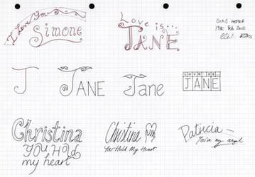Girl's Names 2