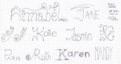 Girl's Names 4