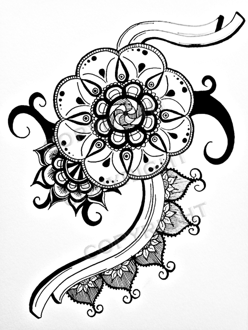flower power coloring pages - flower power by sapateif on deviantart