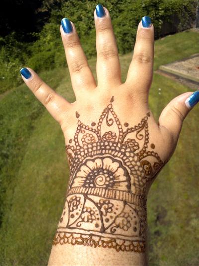 Intricate Wrist Cuff Henna Tattoo Stencil: Henna Cuff By Sapateif On DeviantArt