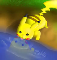 Pikachu by Ichigo-Star