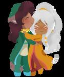 (ReijiNoHana) Vilma + Kehinde by Misical
