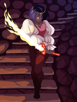 Swordtember - 01 Fire