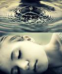 Every drop of water. by Tinnaaa