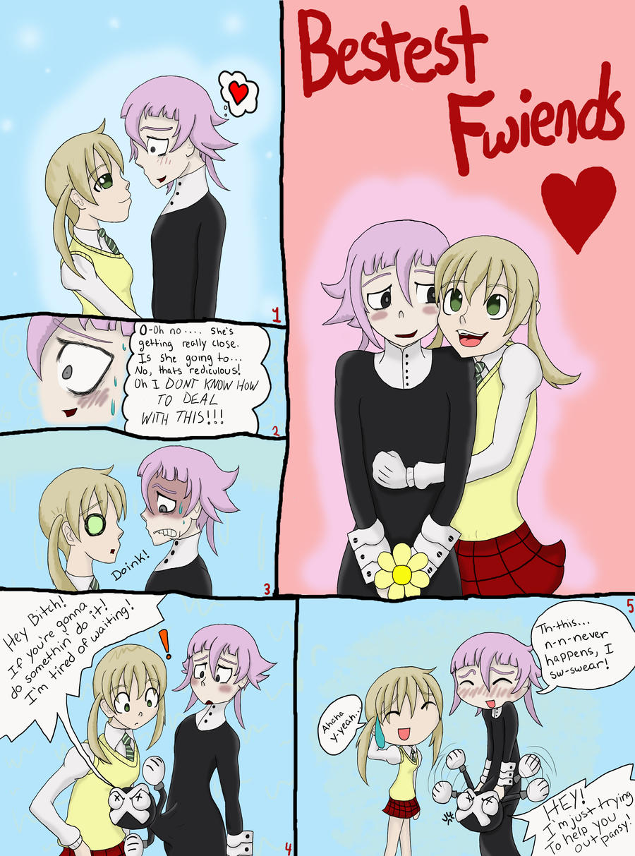 Crona and Maka Moment by Renyarra13 on DeviantArt