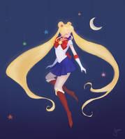 Sailor Moon by Yenasaurus