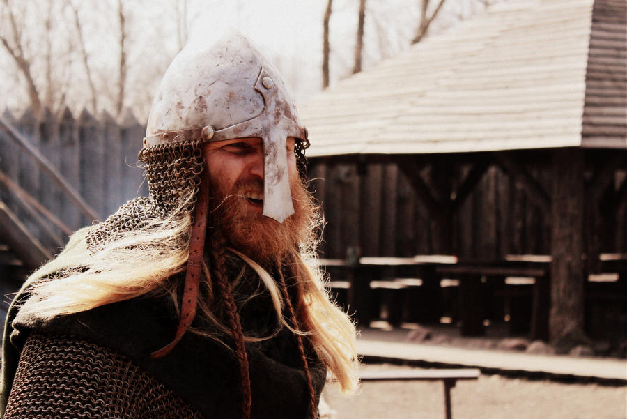 Image of true Viking helmet