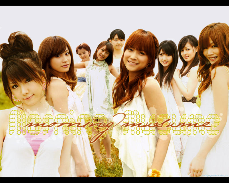 Morning Musume Wallpaper 1 by tanaka13