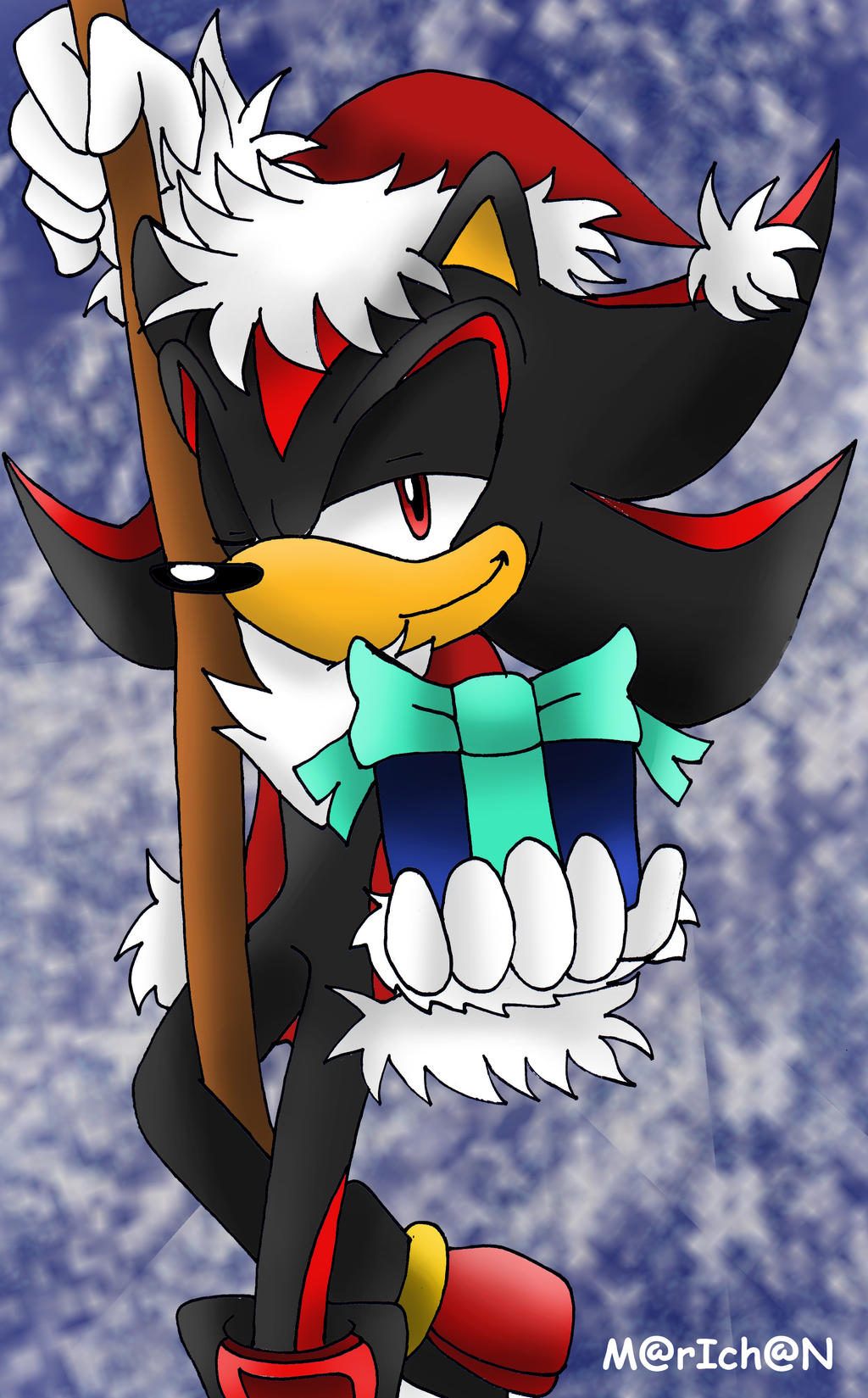 Merry Xmas from Santa Shadow B-day -gift by 7marichan7
