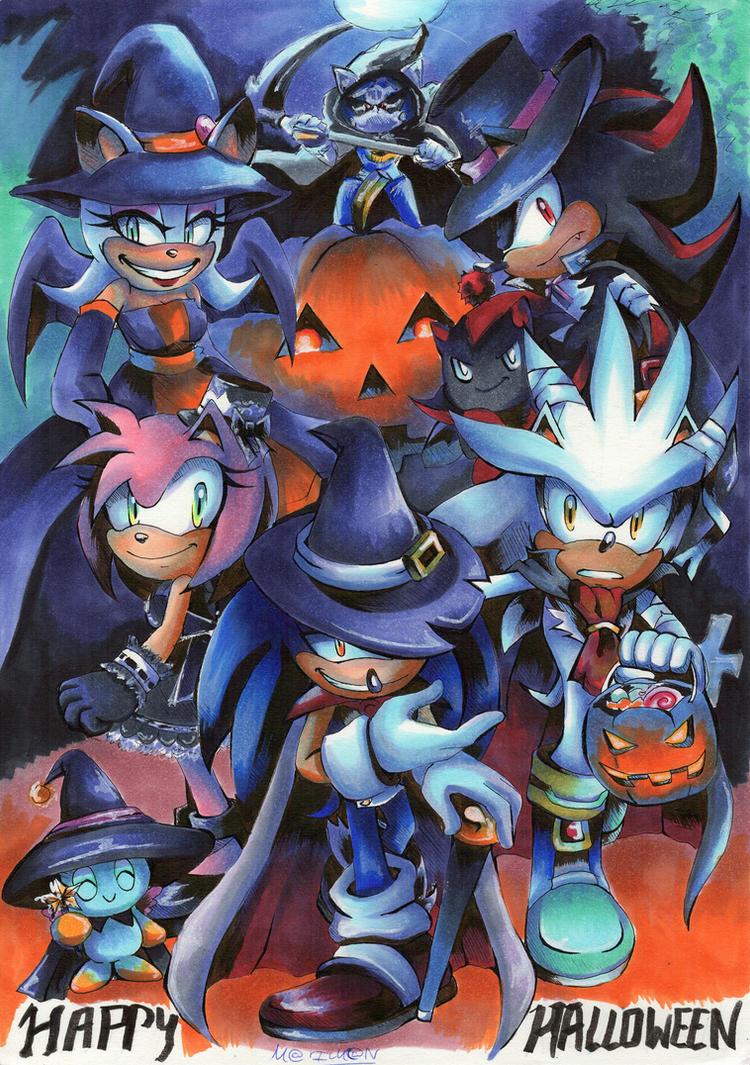 Halloween 2016 Trick Or Threat #1000 DEVIATION by 7marichan7