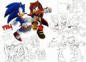Forces Doodles by 7marichan7