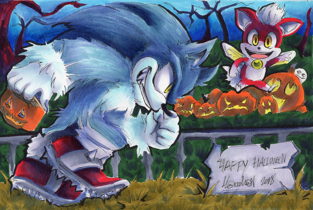 Halloween 2018 Werehog Chip