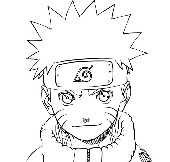 Naruto uzumaki lineart by 666beelzebubxii