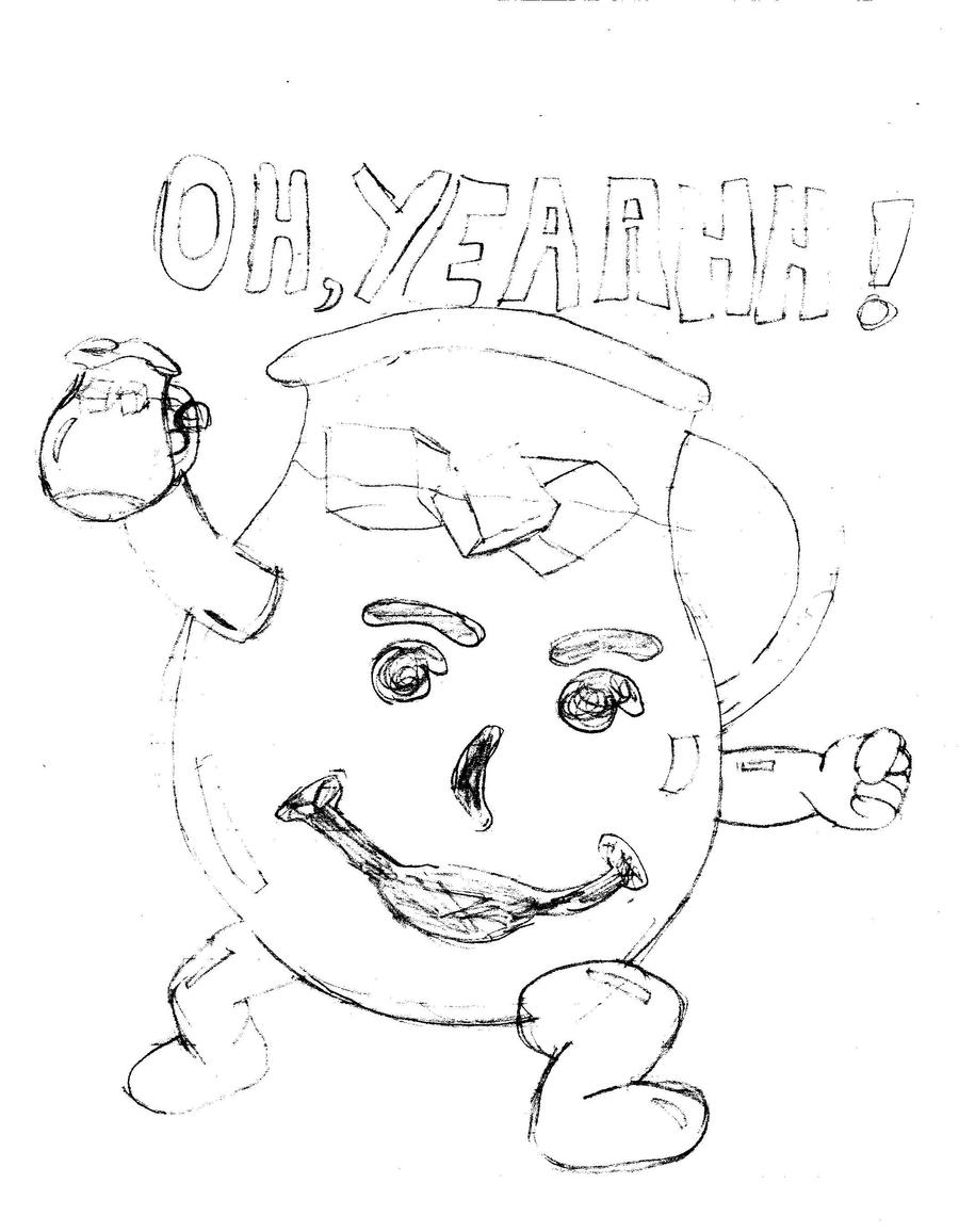 kool aid man by tinydojo on deviantart - Aid Coloring Pages Kids