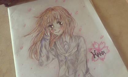 Muslim Manga Contest: Hana and Her Love Fanart by Zhar-nee