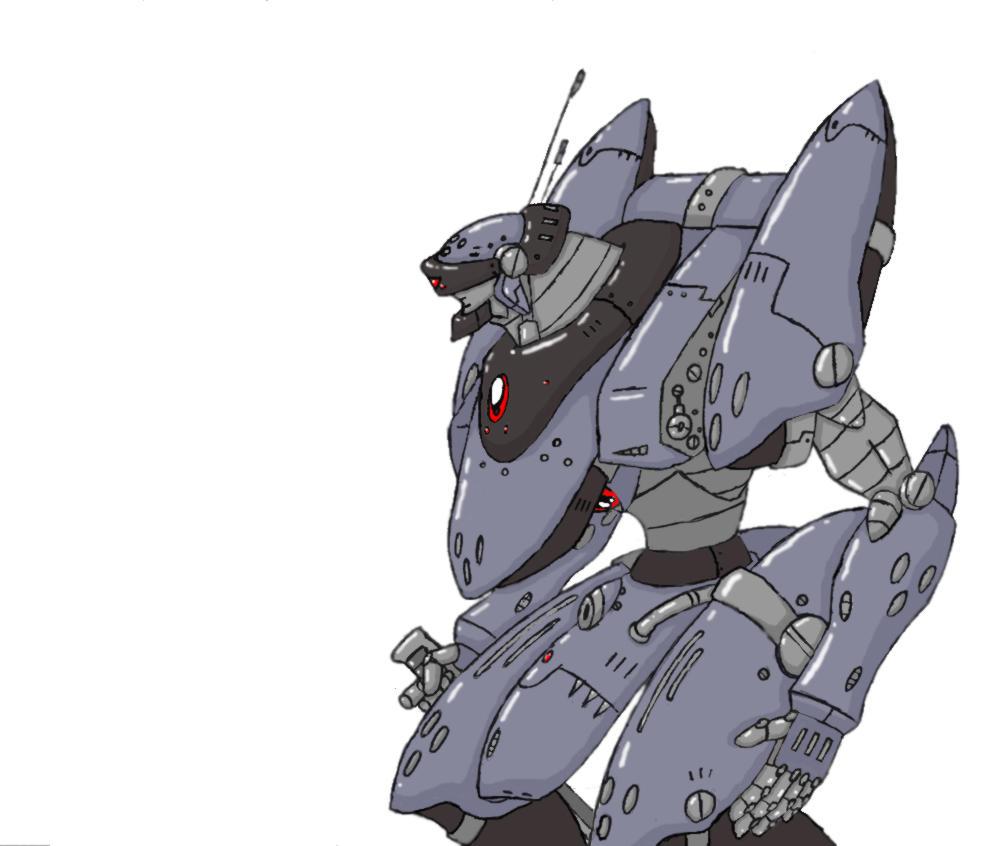 Prototype NeoHuman Battle Mech by Joker27