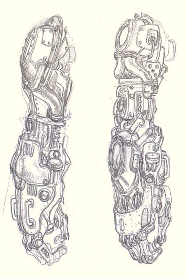 Arm Design by milxart
