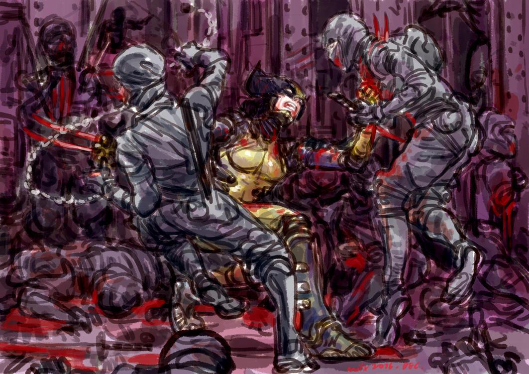 Wolverine X23 by milxart