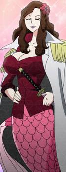 Ayushi One Piece Female Mermaid Admiral OC