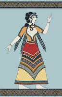 Minoan woman by yoctoparsec