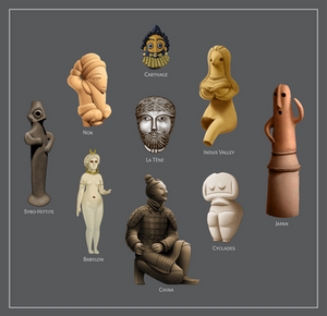 Ancient Human Figures (study)
