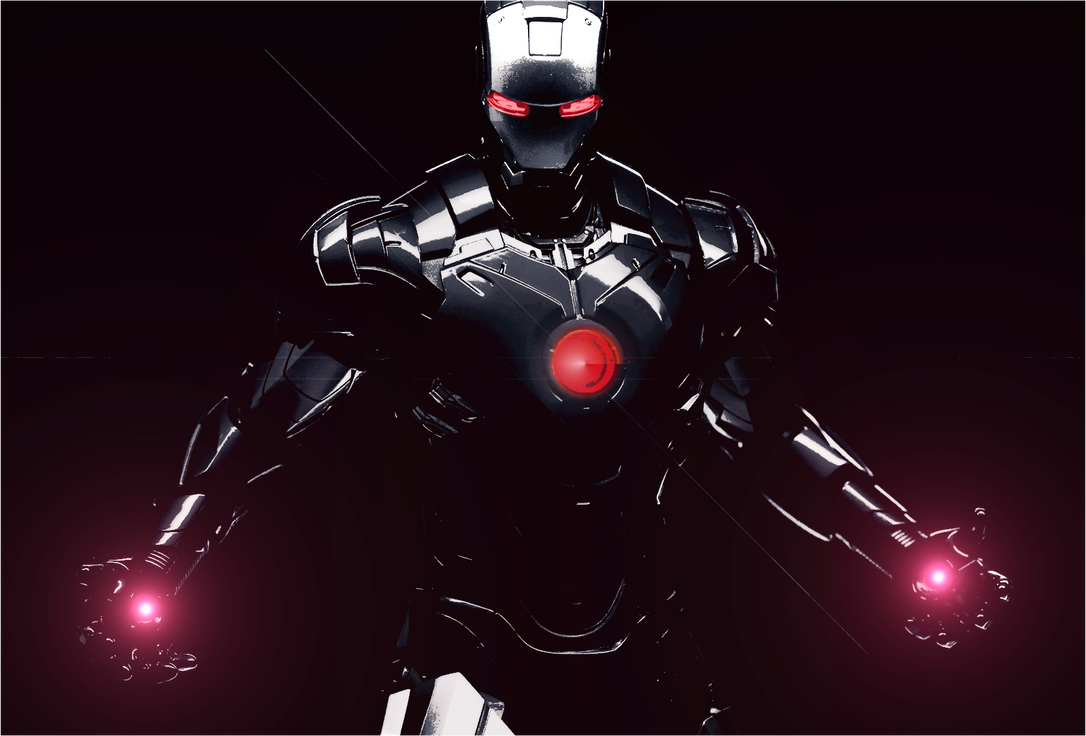 iron man in blackdeviationanonymous on deviantart