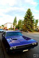 Purple '71 Challenger
