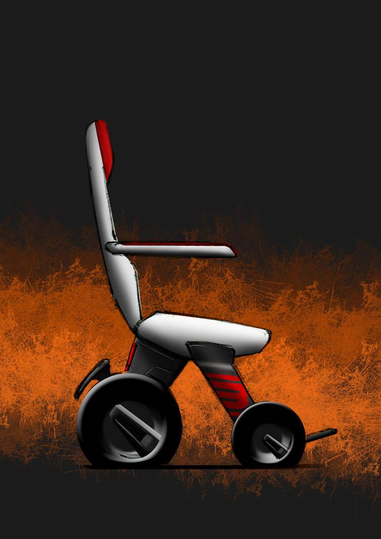 C3 - Electrical Wheelchair by Styrox-Art