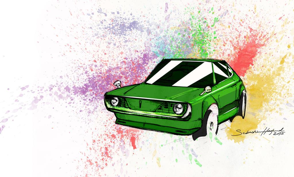Little Green One by Styrox-Art