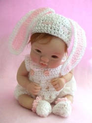 Crochet Costume White BUNNY by Angelic0346