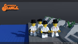 Clockwork orange lego 2 by krypt77